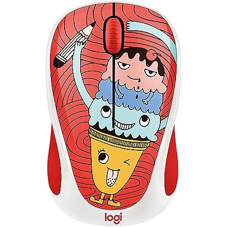 Logitech M317c (Collection) Wireless Optical Mouse-color: Triple Scoop