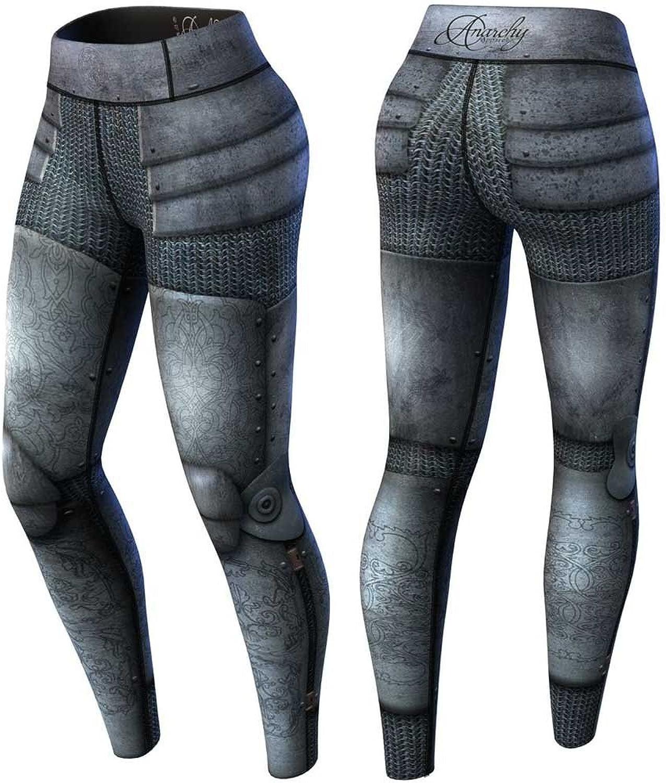 Anarchy Apparel Compression Leggings, Armor, Fitness Pants, Wear, MMA, Hosen