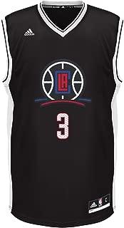 NBA Unisex Los Angeles Clippers Chris Paul Chevron Fashion Replica Jersey, Medium, Black