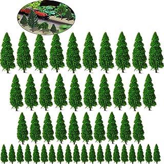 Xinlie Modellträd blandade modellträd tåg träd järnväg landskap dioramaträd arkitektur träd blandade modellträd ho-skala t...