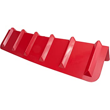 8 x 8 x 48 Inches 10 Pack Red Corner Protector Vee Shaped//V Edge Guard