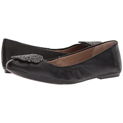 Tahari Venus (Black Glove Leather) Women