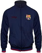 FC Barcelona Official Soccer Gift Mens Retro Track Top Jacket