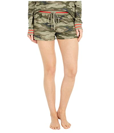 P.J. Salvage In Command Camo Shorts (Olive) Women