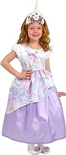 Unicorn Princess Costume Dress with Soft Crown