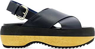 Marni Women's ZPMS00310600B85NAVYB Multicolor Other Materials Wedges