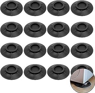 16 Pièces Tapis Anti-Vibrations Machine à Laver Amortisseur De Vibrations Patins anti vibration lave linge Amortisseurs an...