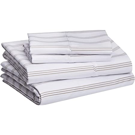 Linenspa Microfiber/Three-Piece/Sheet Set/-/Multiple Styles and Colors/-/Super Soft Feel/-/Fun Patterns for Boys and Girls