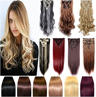 Real Hair Extensions 24