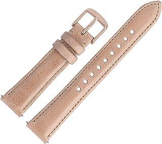 Fossil - ES-4007 - Bracelet de montre - Cuir - Beige - 16 mm
