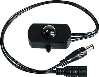 Sensky BS010H 12v 24v 3a Motion Activated Sensor Switch, PIR Motion Sensor Switch with Long Distance and Time Adjustable, Black(Without Light Sensor)