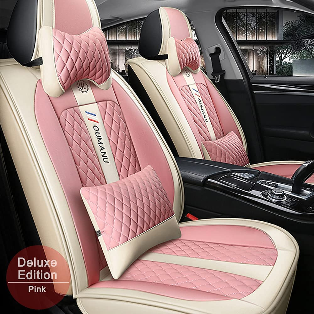 Vonzasi PU Leather Car Max 78% OFF Genuine Seat Cover Fit Enclave is for Buick Encor