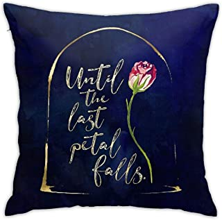 """/""""Beauty/"""" and /""""The Beast/"""" Throw Cushions Home Decor Grey White Silver Bridal"""