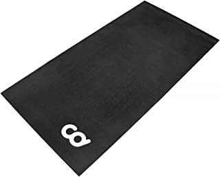 Bike Bicycle Trainer Floor Mat Suits Ergo Mag Fluid for Indoor Cycles.Stepper for Peloton Spin Bikes - Floor Thick Mats for Exercise Equipment - Gym Flooring - Treadmill