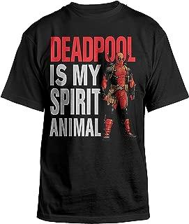 Deadpool is My Spirit Animal Mens Black T-Shirt