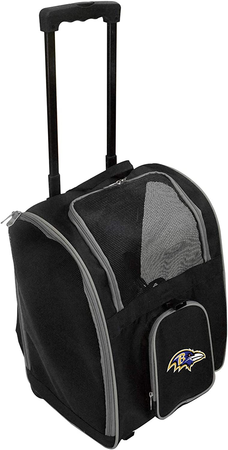 NFL Super shipfree popular specialty store Premium Wheeled Carrier Pet