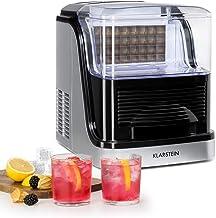 Klarstein Crystal XL - Machine à glaçons, 20kg/24h, Utilisation facile, 2 tailles de glaçons, Elégant boîtier, Affichage d...