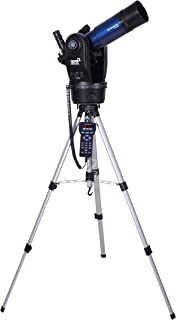 Meade Instruments 205002 ETX80 Observer Achromatic Refractor Telescope with Adjustable Field Tripod, Eyepieces and Deluxe Backpack