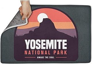WENZI9DU Indoor and Outdoor Yosemite National Park Awake Door Mat Microfiber Beautiful Door Mats 31x19 Inch Floormat