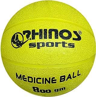 RHINOS sports–Balón Medicinal, Pelota, 800&