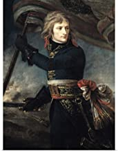 GREATBIGCANVAS Poster Print Entitled General Bonaparte (1769-1821) On The Bridge at Arcole, 17th November 1796 by Baron Antoine (1771-1835) Gros 23