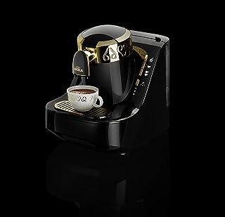 ارزوم اوكا - ماكينة قهوة تركى بـــــ وش - اسود/ذهبى - OK008