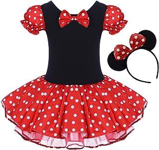 Toddler Girl Polka Dots Party Fancy Costume Tutu Dress up...