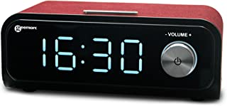Geemarc VISOTEMPO200_RED_VDE Simplified MP3 Music Player, red, 270 x 150 x 115 mm