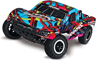 Traxxas Slash 1/10 Scale 2WD Short Course Truck with TQ 2.4GHz Radio and On-Board Audio, Hawaiian