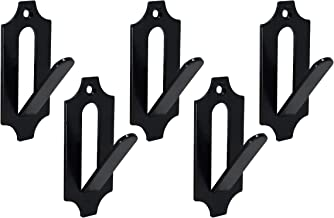 Veradura - 5 Pack Of European Skull Wall Mount Bracket Hangers for Deer Mule Antelope Coyote and Small Game Animals - Complete with simple & easy Installation Kits - Suitable for Indoor or Outdoor Use