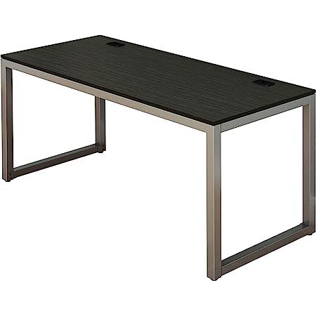 SHW Home Office 55-Inch Large Computer Desk, Espresso
