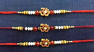 Rakhi for Brother Quick shiping (Set of 3)