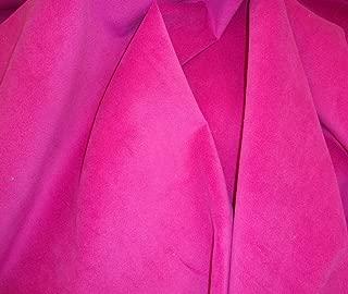 "Plush Velvet Micro Upholstery Fuchsia Upholstery Drapery Fabric Sold BTY 54""wide"