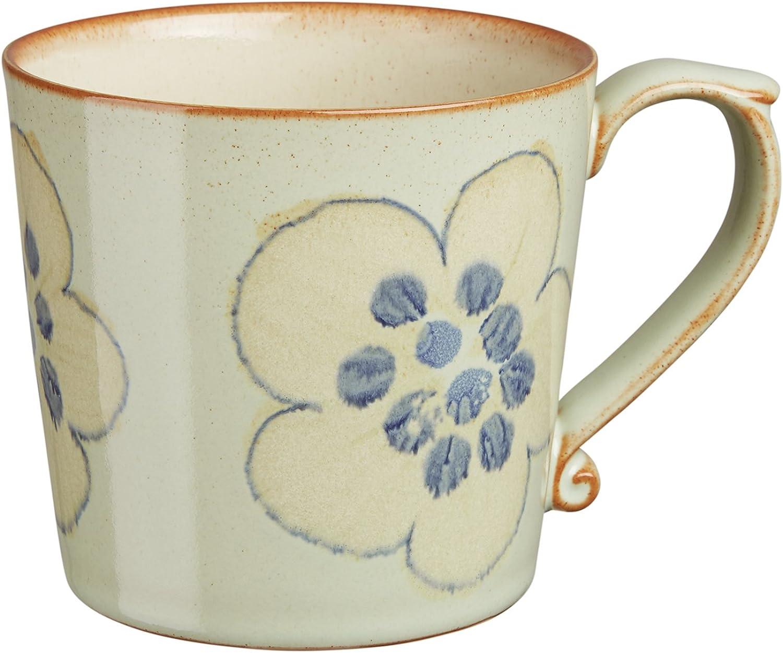 Denby Accent Mug, Large, Orchard Green, Set of 4