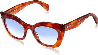 JUST CAVALLI Unisex Adults' JC820S 54W 50 Sunglasses, Brown (Avana Rossa/Blu Grad) (JC820S 54W 50 54W - 140 mm)