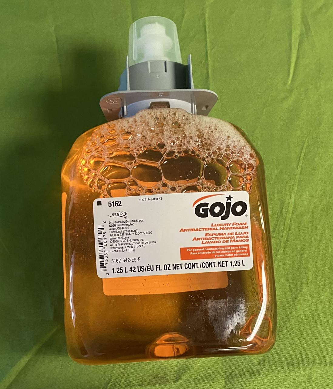 GOJO 1250 mL Great interest Orange Soap Blossom Refill Year-end annual account Antibacterial