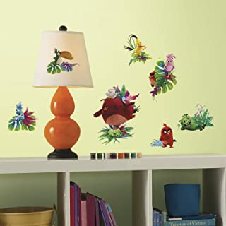 Rooa7|#Roommates RMK3211SCS Angry Birds The Movie Peel and Stick Wall Decals,