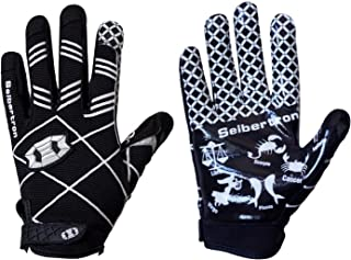 Seibertron Pro 3.0 Twelve Constellations Elite Ultra-Stick Sports Receiver Glove Football..