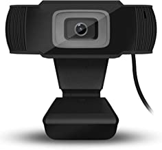 USB Webcam, HD Computer Camera, HD Video Camera with Microphone, 12 Million Pixels, with Night Vision Features,Black