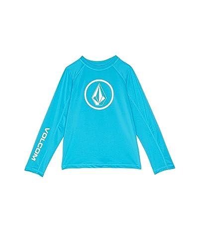 Volcom Kids Lido Solid Long Sleeve Rashguard (Little Kids/Big Kids)