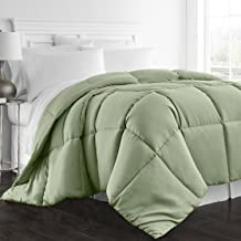 Beckham Hotel Collection 1300 Series - All Season - Luxury Goose Down Alternative Comforter - Hypoallergenic -King/Cal King - Sage