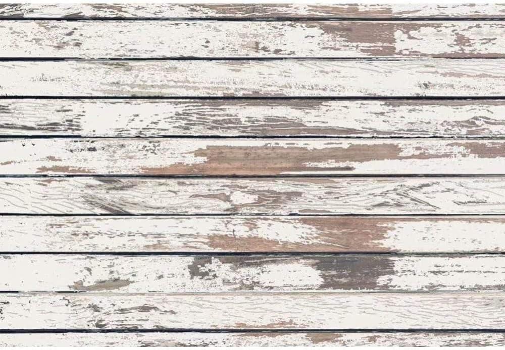 New Rustic Plank Backdrop 7x5ft Wood Block Photos Background Wood Wall Decor Hardwood Floor Background Wooden Plank Board Rustic Baby Shower Party Decoration Kids Photo Newborn Photography Props