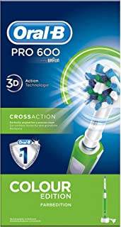 Oral-B PRO 600 CrossAction, Cepillo de dientes eléctrico