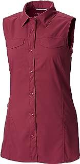 Women's Silver Ridge Lite Sleeveless Shirt, Moisture Wicking, Sun Protection