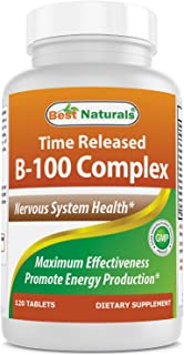 Best Naturals B-100 Complex 120 Tablets (Time Released)