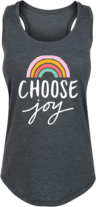Choose Joy Rainbow - Women's Racerback Tank