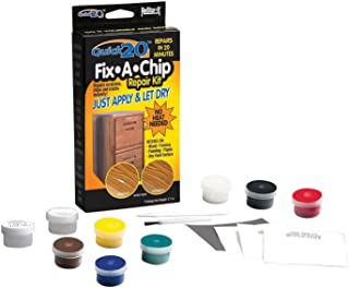 Master Manufacturing ReStor-it Quick 20 Fix-A-Chip Repair Kit, 20 Minute Repar, For Wood, Formica, Paneling, Plastic or Any Hard Surfaces (18084)