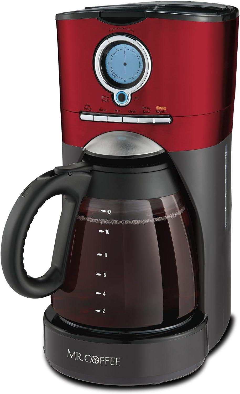 Mr. Coffee BVMC-VMX36 11 coffee, 1, Red