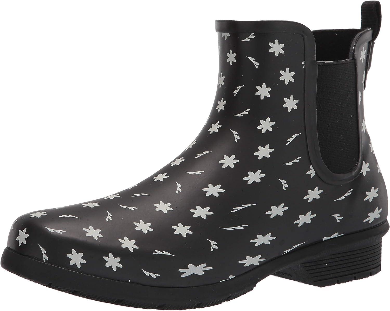 Chooka Max 54% OFF Ditsy Daisy Boots Chelsea Rain Washington Mall
