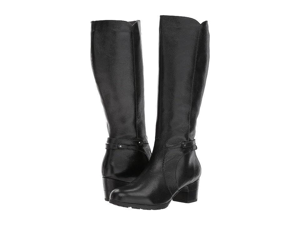 Jambu Chai (Black Full Grain Tumbled Leather) Women